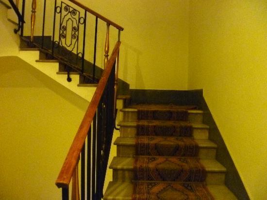 Quirinale Hotel: Hallway