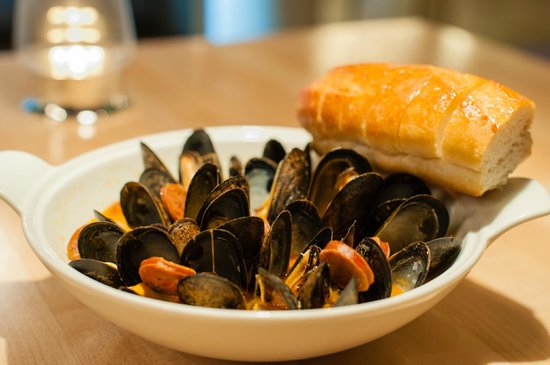 NYLO Dallas South Side: Mussels from Terrace Bistro