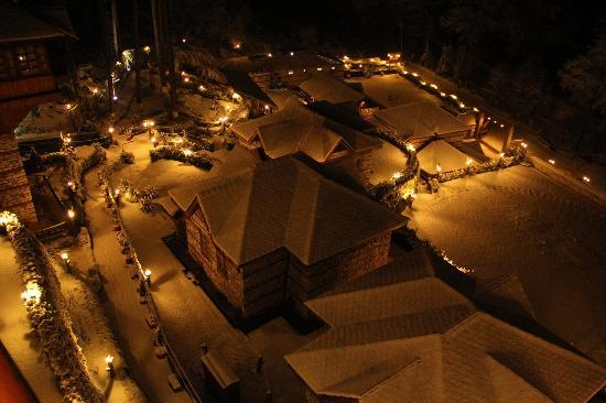 The Himalayan Village: Village in snow