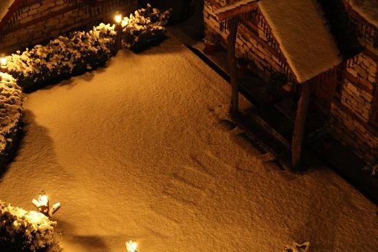 The Himalayan Village: Snow Marks