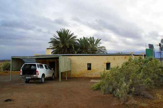 Tankwa Karoo National Park: Frontseite