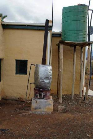 "Tankwa Karoo National Park: Trinkwassr & ""Boiler"""