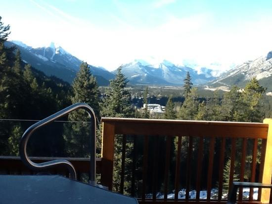 Hidden Ridge Resort: Breathtaking view of the Rockies