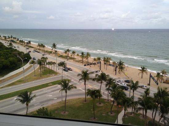 ‪‪Sonesta Fort Lauderdale Beach‬: view from the room, 11th floor