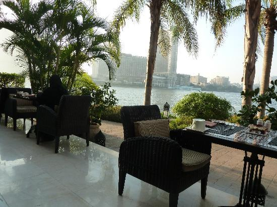 Sofitel Cairo El Gezirah : Breakfast on the banks of the Nile