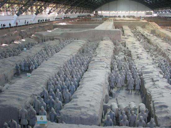 The Terra Cotta Warriors Of WeiShan