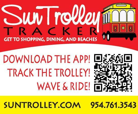 Форт-Лодердейл, Флорида: Sun Trolley Tracker - real time trolley info on your phone!