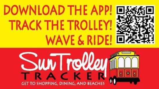 Fort Lauderdale, FL: Download the Sun Trolley Tracker app to your phone!
