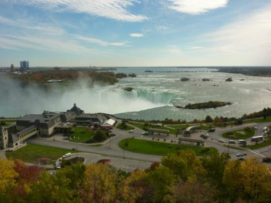 Niagara Falls Marriott Fallsview Hotel & Spa: Tough to beat this view! This is right out our window