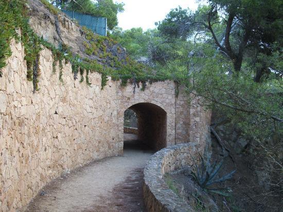 Hotel Sant Roc: hiking trail near hotel
