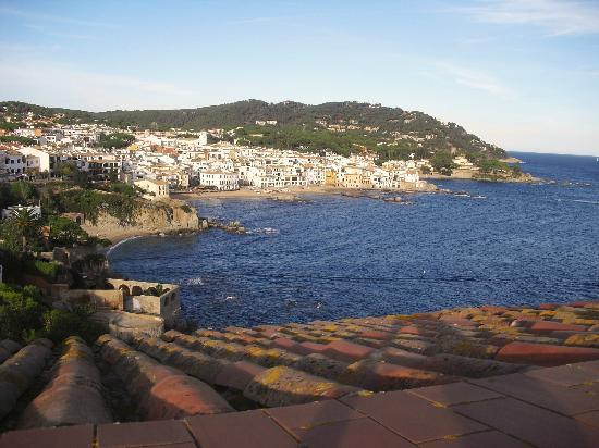 Hotel Sant Roc: view from hotel toward Palafrugell