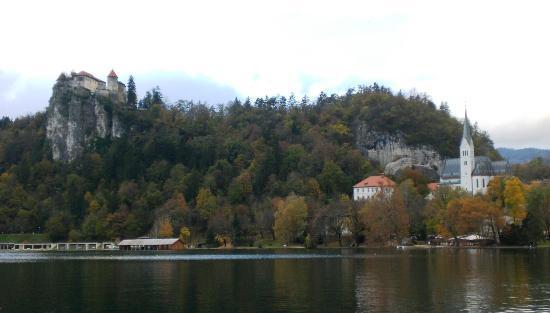 Hotel Jelovica Bled: vista stupenda