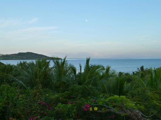 Wananavu Beach Resort: View from dinner