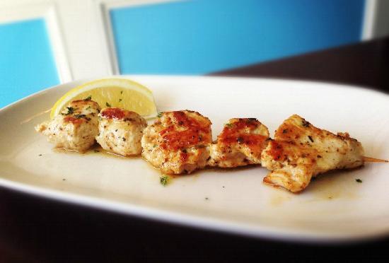 Opa! Mezze Grill: Chicken Souvlaki