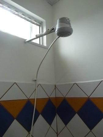 Regina Hotel: shower head