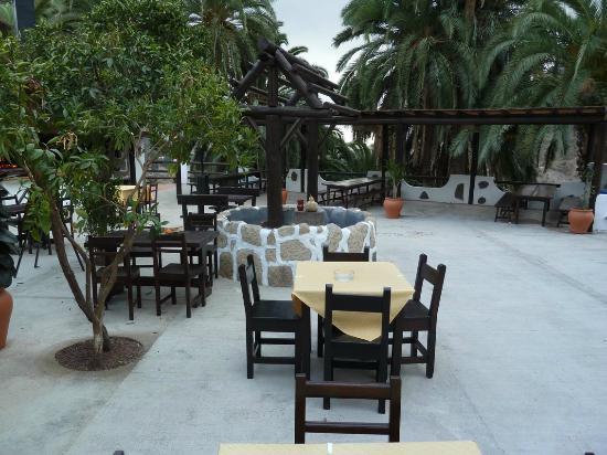 Finca Molino de Agua Hotel Rural Restaurante: Außenanlage des Restaurants