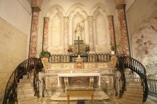 Santuario di Santa Lucia : cripta inferiore