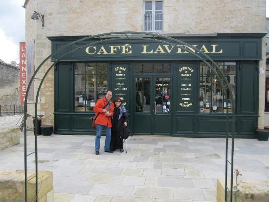 Bordeaux Wine Travel : Cafe Lavinal