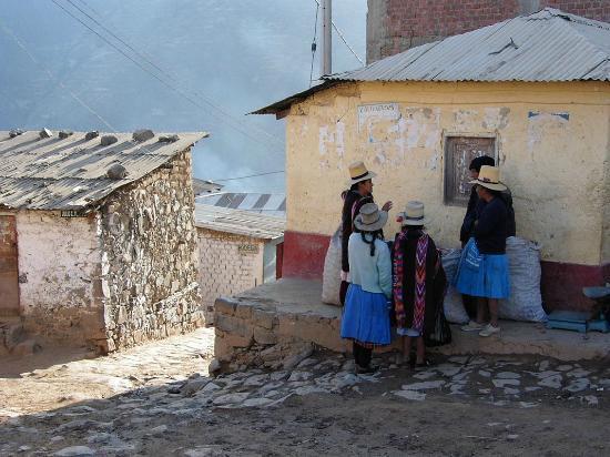 Marcahuasi: Plausch in San Pedro