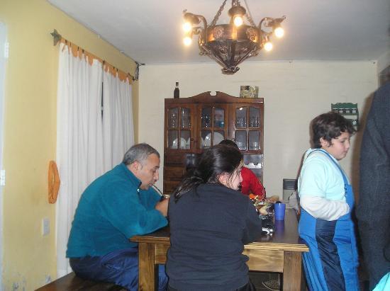 El Pinar en La Ventana: INTERIOR DE LA CABAÑA, MUY COMODAS