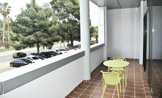 Aparthotel Wellness: terraza estudio