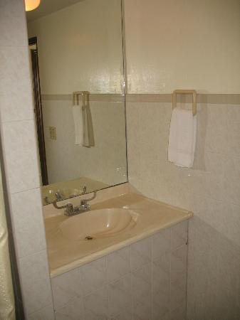Bunker Hill Hotel: Bathroom