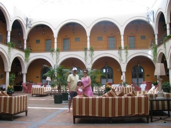 Hacienda Montija: interior