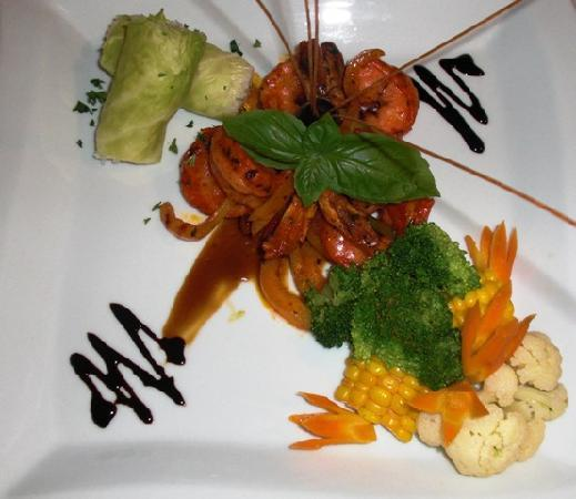 Chabil Mar: Chef Specials Daily . . . Mayan King Prawn