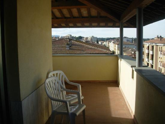 Hotel Italia: terraza