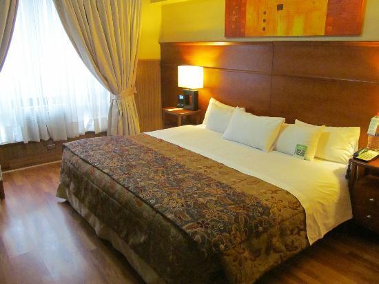 Hotel Panamericano: Habitación matrimonial premium.
