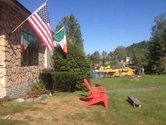 Gauthier's Saranac Lake Inn and Hotel: a great view and seaplanes as a bonus