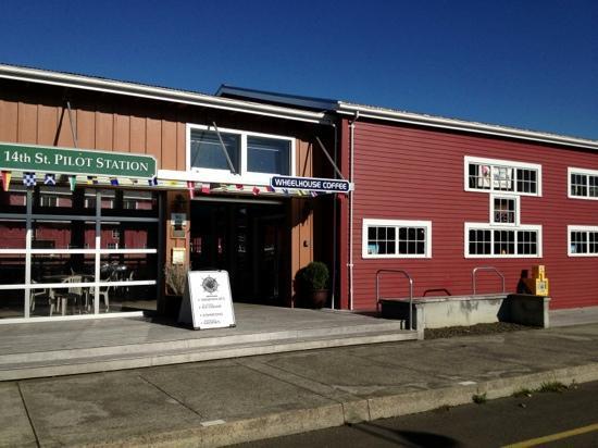 Wheelhouse Coffee Co : On Astoria's Riverwalk between 12th & 14th.