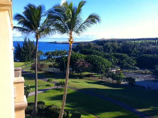 The Ritz-Carlton, Kapalua: View from one of the rooms.