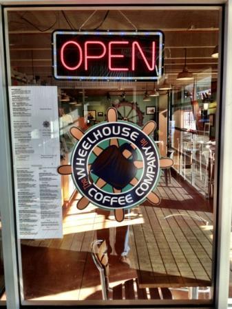 Wheelhouse Coffee Co : Open .. great espresso, sandwiches, ice cream and special treats.