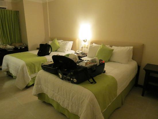 Ocean View Hotel: Vue de la chambre