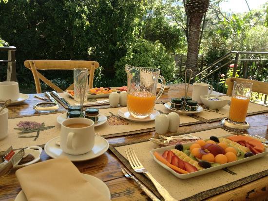 Blaauwheim Guest House: Stunning breakfast