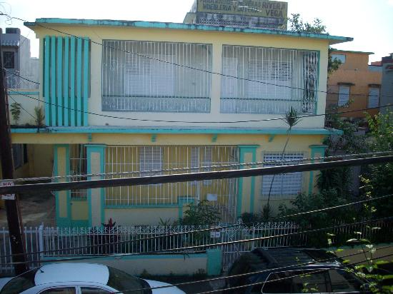 The Palace Hostel : View from outside balcony