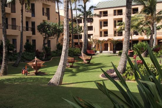 Courtyard Kaua'i at Coconut Beach: Huge hammocks