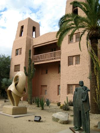 The Phoenician, Scottsdale: Alamo type building used for events