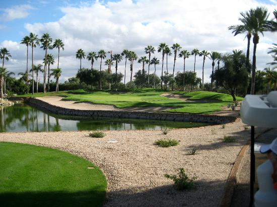 The Phoenician, Scottsdale: Beautiful golf hole