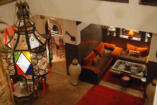 Riad La Porte Rouge: Salon