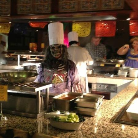 Hotel Riu Tequila: our halloween chef