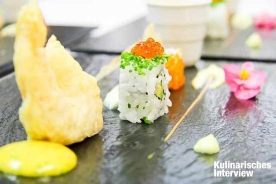 Gutshaus Stolpe: Sushi
