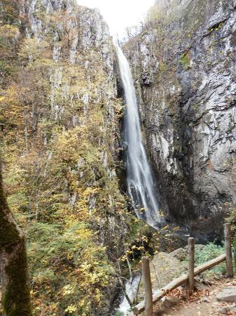 Xanthi, Hellas: livaditis waterfall