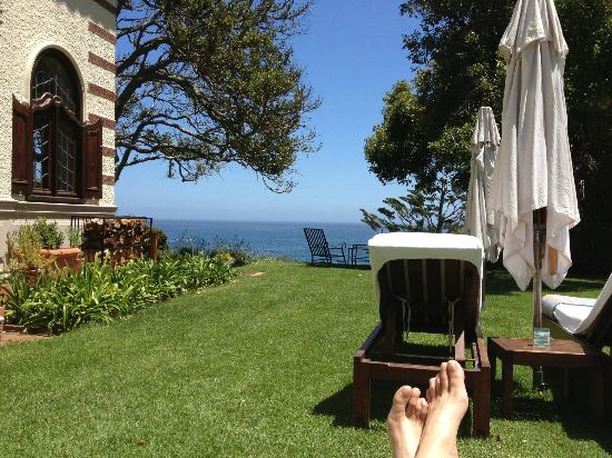 Camps Bay Retreat: View from my sun lounger