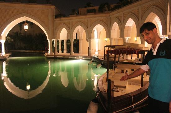 Shangri-La Hotel, Qaryat Al Beri, Abu Dhabi: Complementary from the hotel