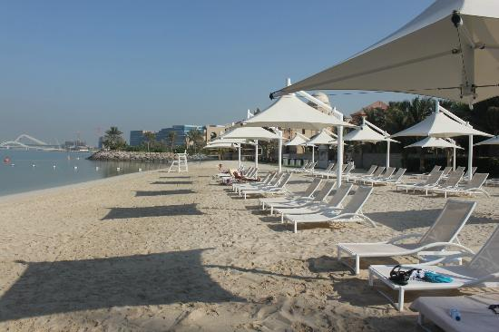 Shangri-La Hotel, Qaryat Al Beri, Abu Dhabi: The Private Beach Front