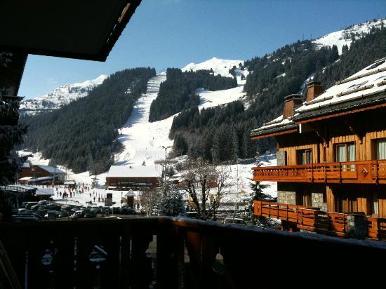 Hôtel La Chaudanne  : Vue sur les pistes
