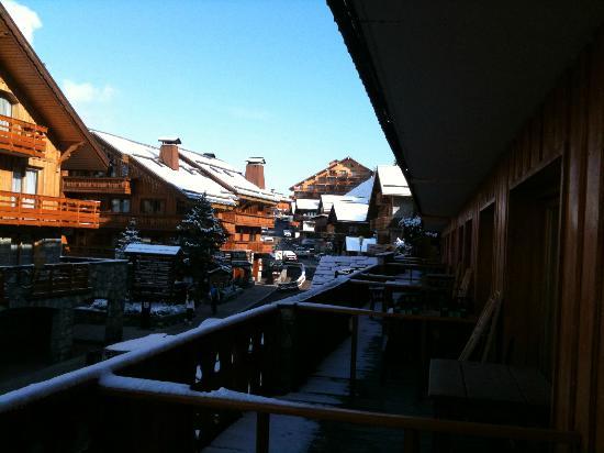 Hôtel La Chaudanne  : Les balcons