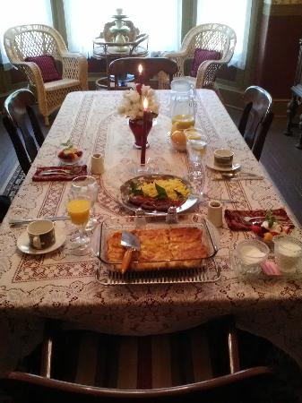 Millview Bed & Breakfast: AWESOME BREAKFAST